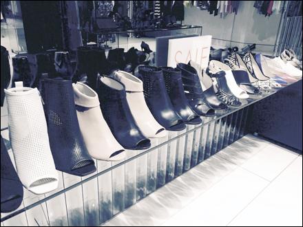 Shoe Arranged by Height Karen Millen Main