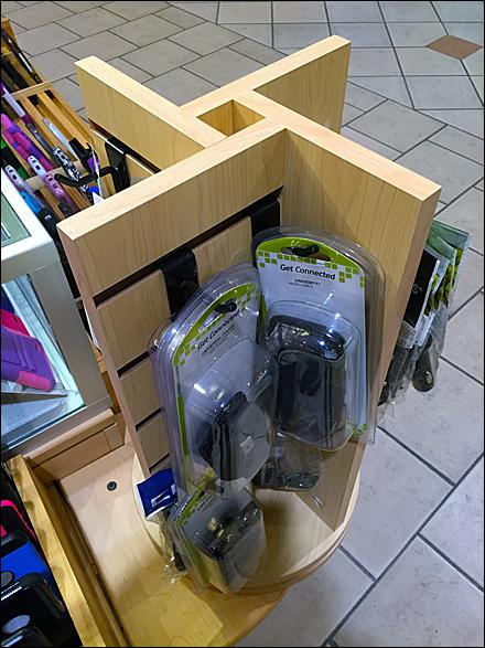 Table-Top Slatwall Spinner Main