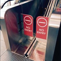 Target Cart Escalator in Motion 3
