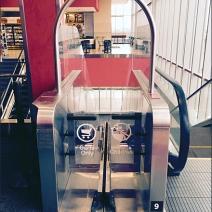 Target Carts No Kids Escalator 1