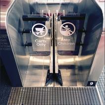 Target Carts No Kids Escalator 2