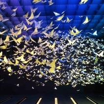 3 Apple iWatch Selfridges Wonder Room butterfly cloud