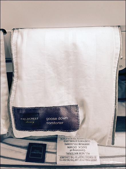 Comforted Down Samples at Shelf-Edge Main2