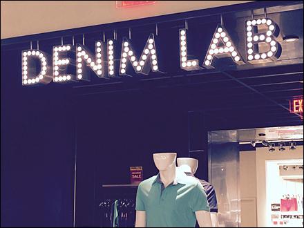 Denim LabStore-In-Store