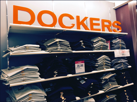 Dockers Branded from a Distance