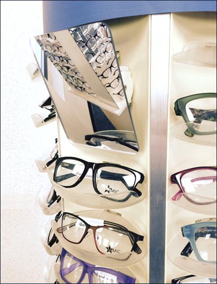 Eyewear Mirror for Slotwall Main