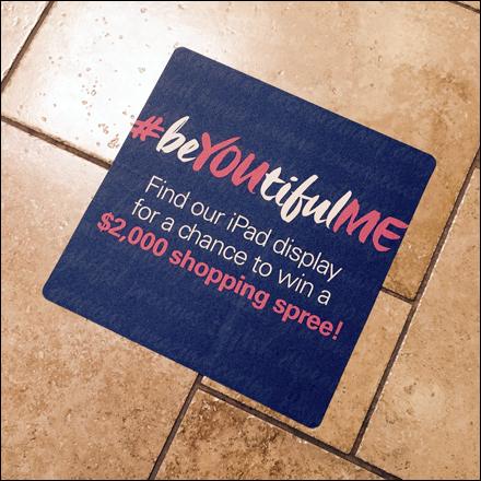 Hashtag Floor Graphic Contest