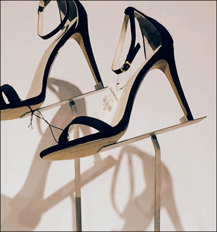 High Heels on a Cant Extreme Closeup