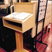 In-Store Catalog Rostrum Main