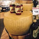 Kings® Oversize Cheese Wheel Closeup