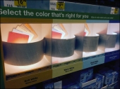Lighting Color Samples Precisely 1