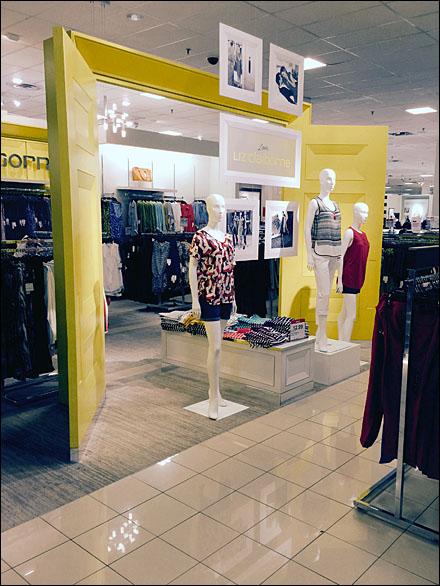Liz Claiborn Store-In-Store Doors Open Main