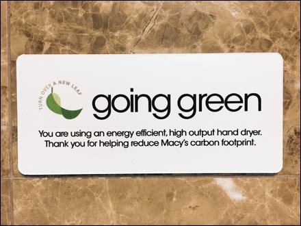 Macys Xlerator Going Green Closeup