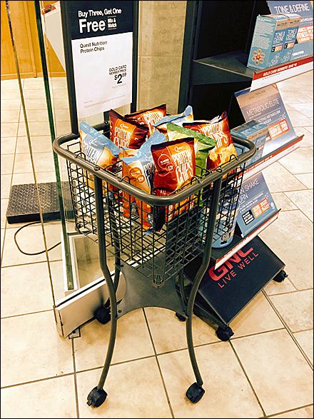 Mobile BOGO Basket Overall