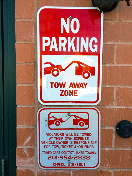 No Parking Tow Away Zone Overall
