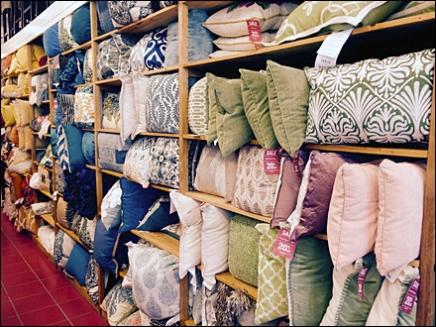 Pier One® Pillow Walls