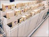 Super Tall Shelf Fencing as Shop-in-Shop