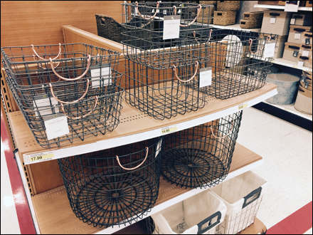 Wire Basket Assortment In-Store