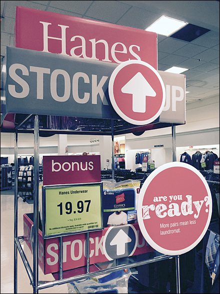 Bon-Ton Hanes Stock Up
