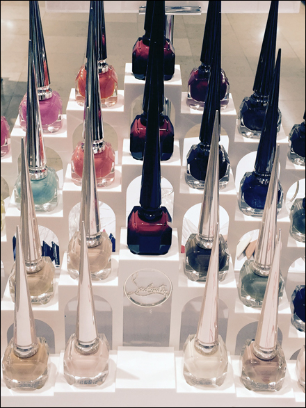 Christian Louboutin® Cast Display Details