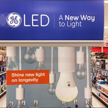 Giant GE® Bulb Lights The Way To Sales