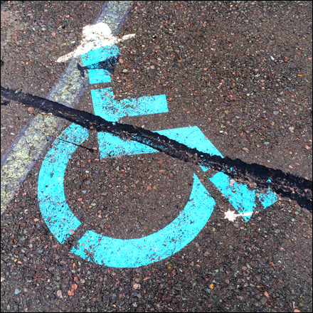 Handicapped Parking for Robbers