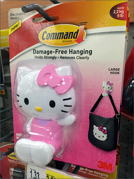 Hello Kitty® Branded Command Strip®