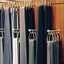 Hermes Sculpted Necktie Hooks 1