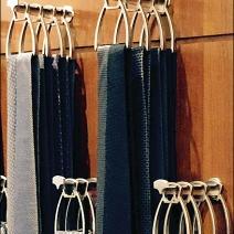 Hermes Sculpted Necktie Hooks 2