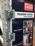 Hinged Folding Door Point-Of-Purchase 4