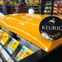 Keurig K-Cup Point-of-Purchase Finial