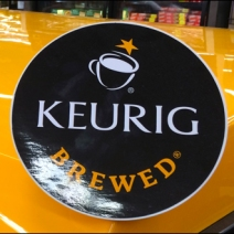 Keurig K-Cup Point-of-Purchase Finial 3
