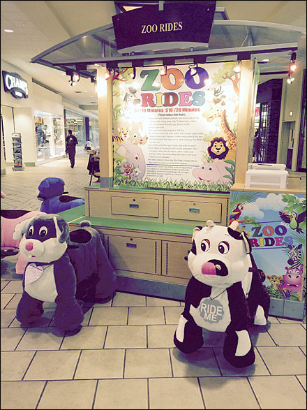 Mall Zoo Ride Kiosk