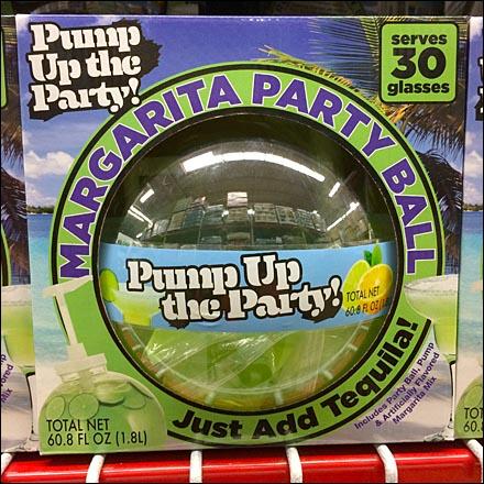 Margarita Party Ball Self Merchandising CloseUp