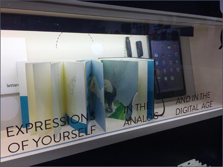 Moleskine Analog and Digital Merchandising