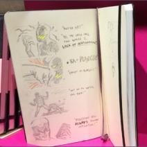 Moleskine Retail Merchandising Storyboard 2