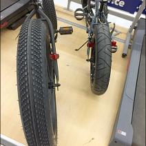 Mongoose Fatboy Pallet Rack Bike Display 2