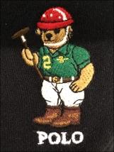 Polo® Teddy Bear Branded Baseball Caps