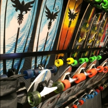 Skateboard Display Rack 2