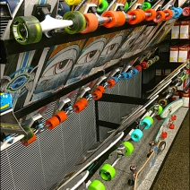 Skateboard Display Rack 3