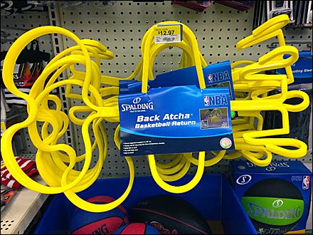 Spalding Back Atcha® Basketball Return Hook
