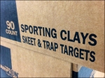 Sporting Clay Skeet Shooting Merchandising Closeup