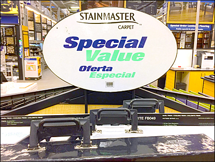 StainMaster Hooks For Hand Holds
