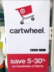 Target Cartwheel App In-Store Promo Front