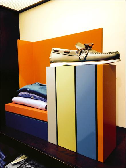 Visual Merchandising Stripes
