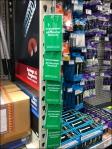 Weather-Proof Strip Merchandiser