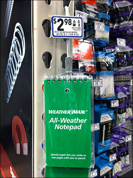 Weather-Proof Strip Merchandiser