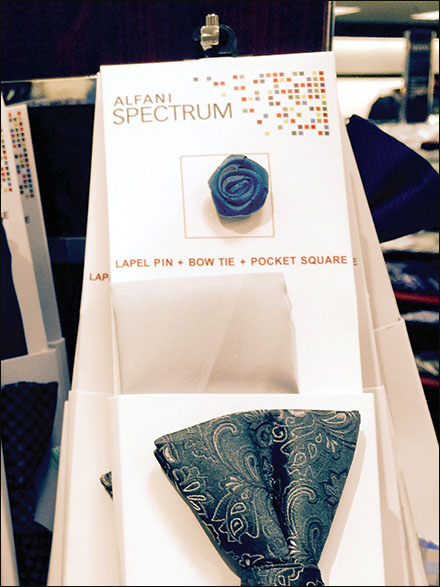 Afani® Lapel Pins, Bow Ties, and Pocket Squares as Ensemble