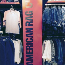 American Rag Vertical Sign Branding 3