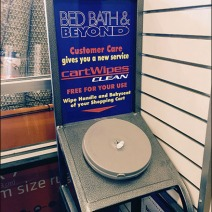 Bed Bath Beyond Cart Wipes 2